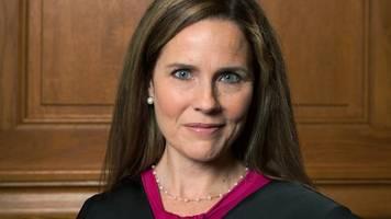 amy coney barrett - supreme court: trump will ginsburg-nachfolgerin nominieren