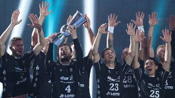 handball: superstar sagosen führt kiel zum zehnten supercup-sieg