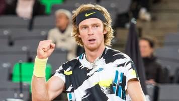 russe rubljow erster finalist beim tennis-turnier in hamburg