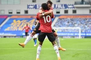 turbulente nachspielzeit: man united siegt 3:2 in brighton