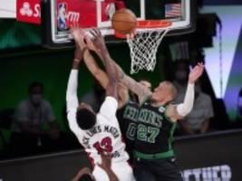 basketball in der nba: theis und boston schlagen zurück