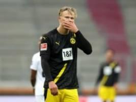 Bundesliga: Dortmund lässt sich von Augsburg abkochen