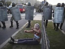 nach heimlicher amtseinführung: großdemo gegen lukaschenko erwartet