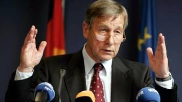 Früherer Bundesminister und NRW-Landeschef Clement mit 80 Jahren gestorben
