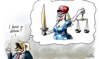 donald trump, corona-krise, fleischskandale: die cartoons der woche