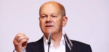 Scholz übt scharfe Kritik an Wahl von AfD-Mann in Gera