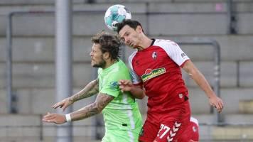 Bundesliga: Trotz Führung gegen Wolfsburg – Freiburg verpasst Traumstart