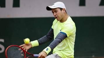 French Open im Newsblog: Erster Deutscher in Runde Zwei