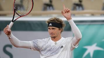 Tennis-Grand-Slam-Turnier: Zverev bei French Open mühelos in Runde zwei