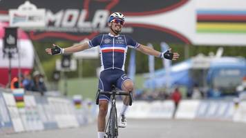 WM in Imola: Alaphilippe wird Straßenrad-Weltmeister - Schachmann Neunter