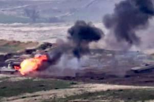 konflikt zwischen armenien und aserbaidschan: im kaukasus droht krieg