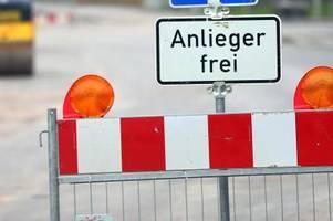 Achtung Autofahrer: Wo ab Montag Straßen gesperrt sind