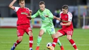 Bundesliga: Freiburg und Wolfsburg trennen sich 1:1