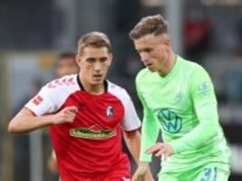Bundesliga: Freiburg verspielt den Sieg gegen Wolfsburg