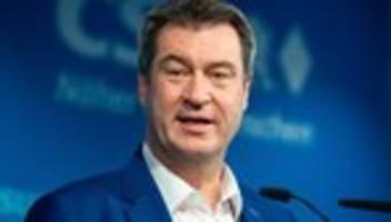 Pandemie-Maßnahmen: Markus Söder fordert Corona-Ampeln für alle Bundesländer