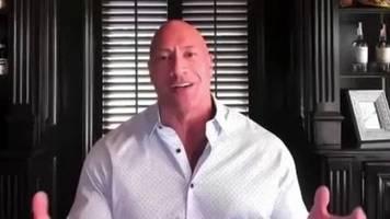 US-Wahlen: Dwayne The Rock Johnson spricht sich für Joe Biden aus