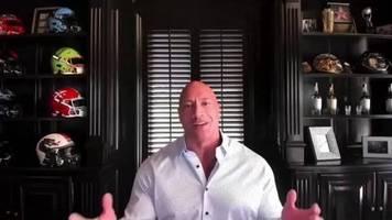 Video: The Rock empfiehlt Biden