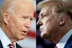 US-Wahl: TV-Duell Biden vs. Trump: Rhetorisches Senioren-Wrestling?