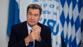 bayerns ministerpräsident: brauchen ein regelwerk: söder legt leitfaden für bundesweite corona-warnampel vor