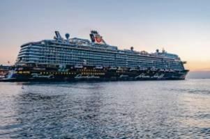 """Pandemie: Mehrere Corona-Fälle auf Kreuzfahrtschiff """"Mein Schiff 6"""""""