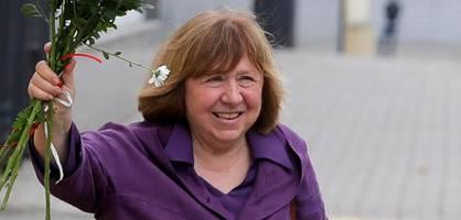 literaturnobelpreisträgerin alexijewitsch reist nach deutschland