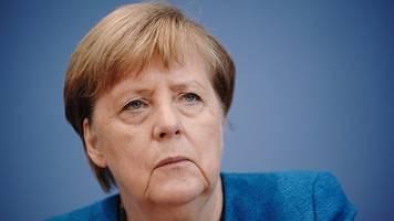 Es muss was passieren: Merkel alarmiert angesichts steigender Corona-Zahlen