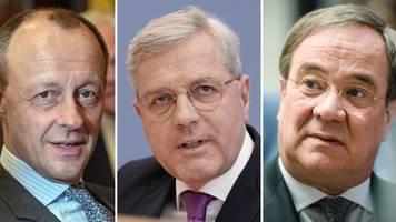 Vor CDU-Parteitag: Kandidaten messen sich in zwei Live-Arenen