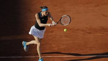 tennis-grand-slam-turnier: erstrunden-aus für andrea petkovic bei french open in paris