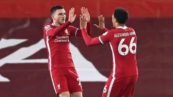 Weiter ohne Punktverlust: Liverpool dreht Partie gegen Arsenal
