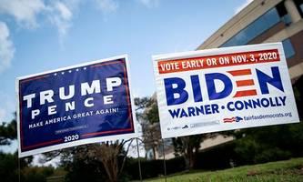 Biden und Trump: Zwei, die sich nichts schenken