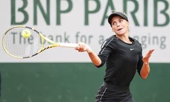 Tennis: Endstation für Barbara Haas bei French Open