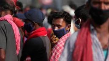 Indien: Mehr als sechs Millionen Corona-Infektionen