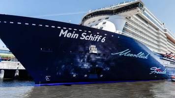 TUI-Kreuzfahrtschiff: «Mein Schiff 6» mit Corona an Bord legt in Piräus an