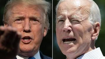 US-Wahl 2020: So wird das TV-Duell zwischen Donald Trump und Joe Biden