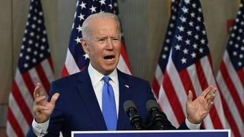 News zur US-Wahl 2020: Biden veröffentlicht kurz vor TV-Duell mit Trump seine jüngste Steuererklärung