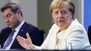 Alkoholverbote und Bußgelder: Neue Corona-Maßnahmen: Sehen Sie hier das komplette Merkel-Statement