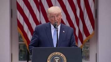 Video: Trump will Millionen Corona-Schnelltests verteilen