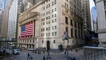 Dow Jones, S&P500, Nasdaq: US-Börsen vor TV-Duell zwischen Trump und Biden verhalten
