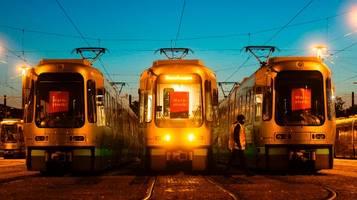 Bundesweiter Warnstreik: Hier stehen Bahnen und Busse heute still