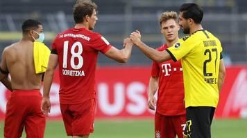 FC Bayern – BVB: Supercup-Spiel hier live im TV und Stream verfolgen