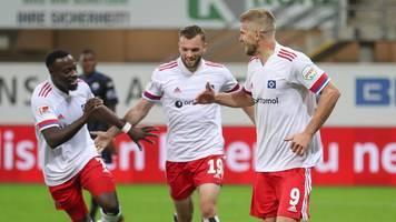 2. Liga - Terodde-Tore als Gjasula-Glück: HSV erobert Tabellenspitze