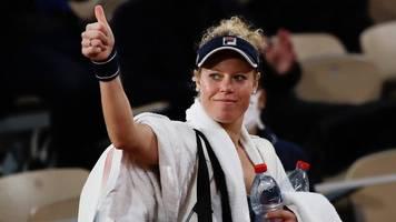 Tennis-Grand-Slam-Turnier - French Open: Siegemund rettet Damen-Ehre - Kohlschreiber-Aus