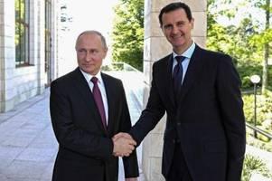 Wie Putins Eingreifen in Syrien Diktator Assad rettete