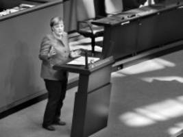 Angela Merkel in der Corona-Krise: Wir müssen reden