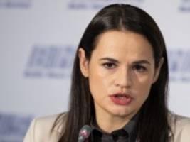 Machtkampf in Belarus: Tichanowskaja bildet alternative Führung zum Lukaschenko-Regime