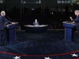 TV-Duell in den USA: Trump vs. Biden - der Faktencheck