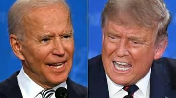 Trump sagt bei TV-Duell erneut nicht Anerkennung des Wahlausgangs zu