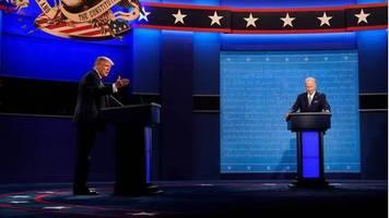 trump vs. biden: nach dem tv-duell fliegen im netz die fetzen – erste umfragen zum sieger