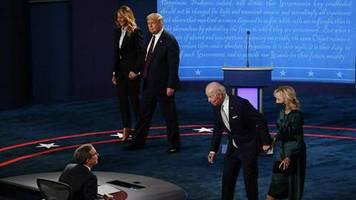 Donald Trump vs. Joe Biden: Erstes TV-Duell war laut und inhaltlich flach