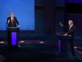 leserdiskussion: trump und biden: was hat das tv-duell gezeigt?